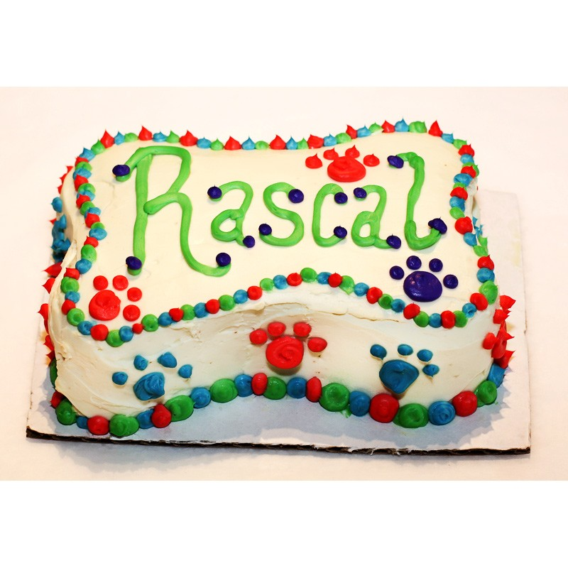Groovy Small Dog Birthday Cakes Personalised Birthday Cards Veneteletsinfo